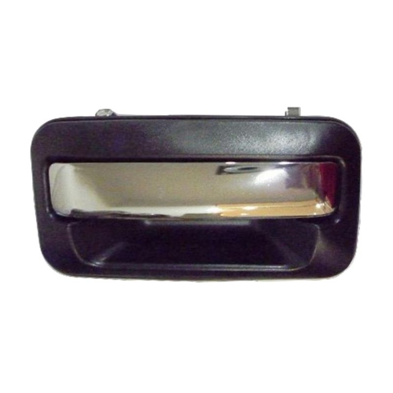 Sport Shot Black Chrome Outer Door Handle for Mitsubishi Kuda [Right Side]