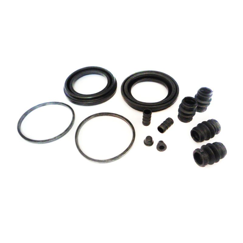 Sport Shot Black Disc Brake Seal Kit for Mitsubishi L200 Single Cabin
