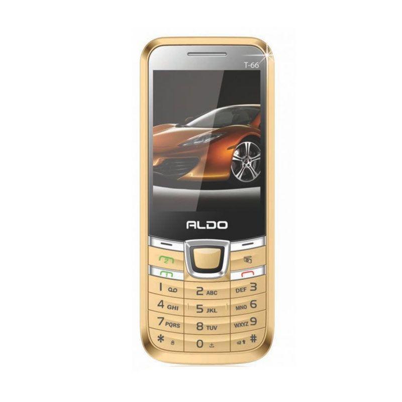 Aldo T66 Gold Handphone