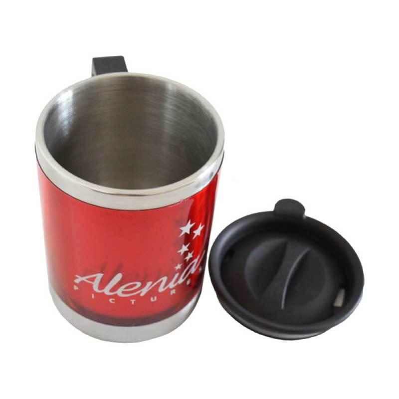 Alenia Pictures Mug Merah