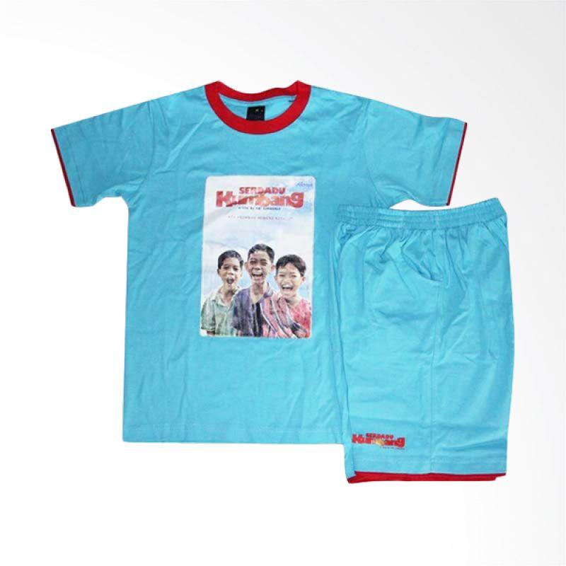Alenia Pictures Serdadu Kumbang Kids T-shirt - Blue