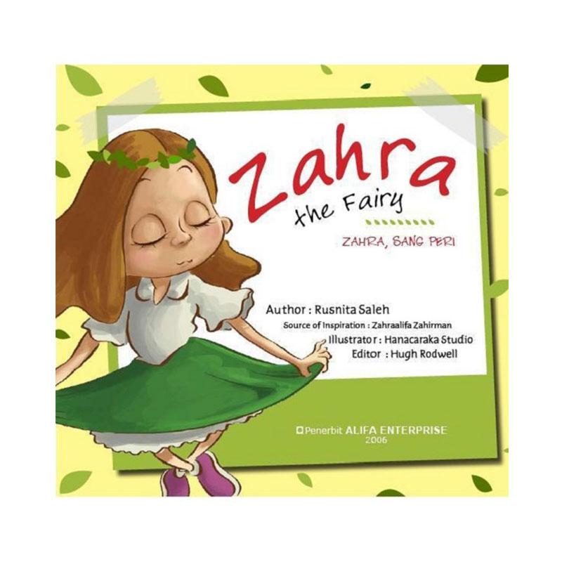 Alifa Enterprise Zahra the fairy Buku Cerita