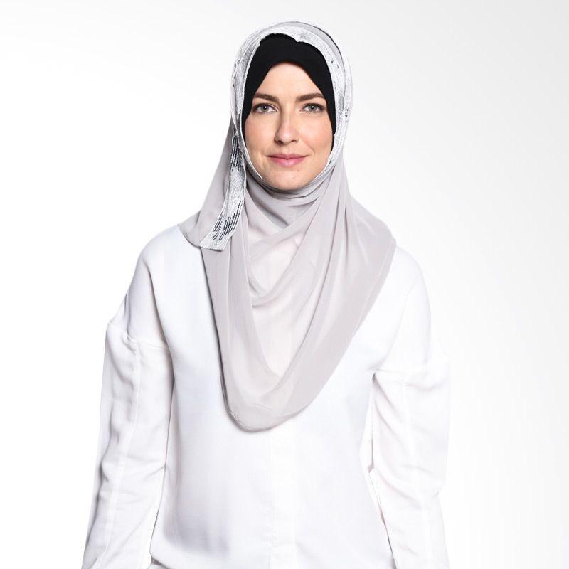 ALLS SCARF Sequina Shawl B 017 02 Grey Hijab