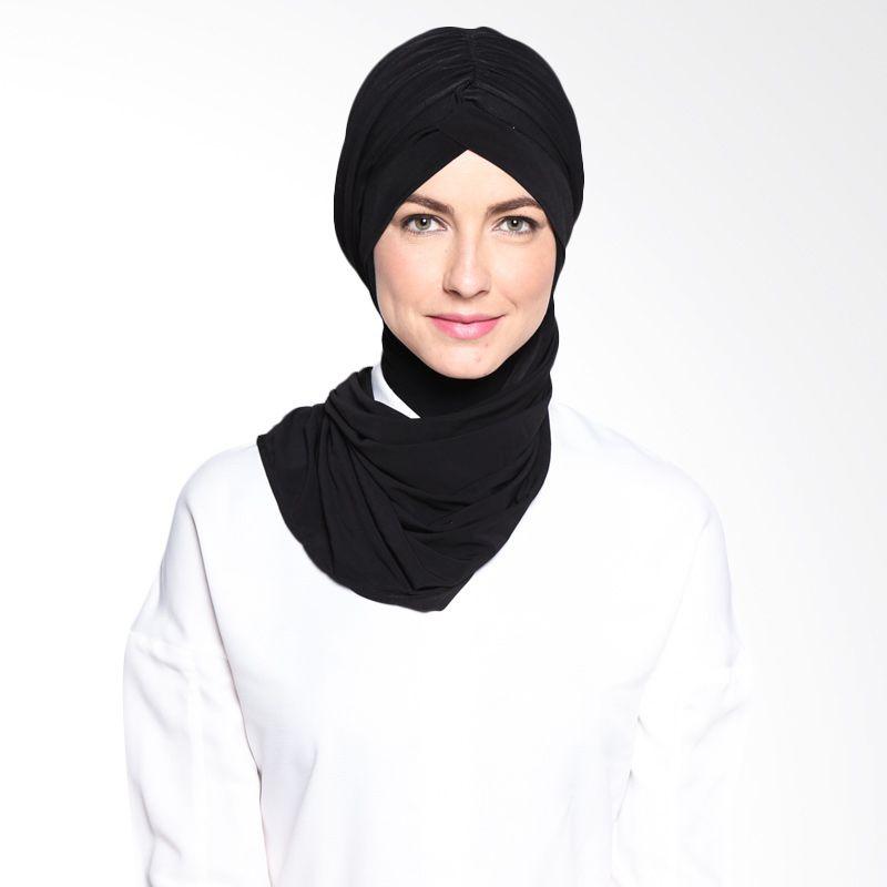 All's Scraf Tulby Shawl B 021 01 Black Hijab