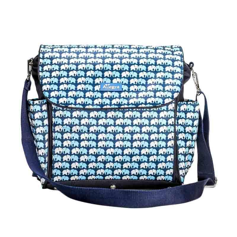 Allegra Luna Diaper Bag Blue