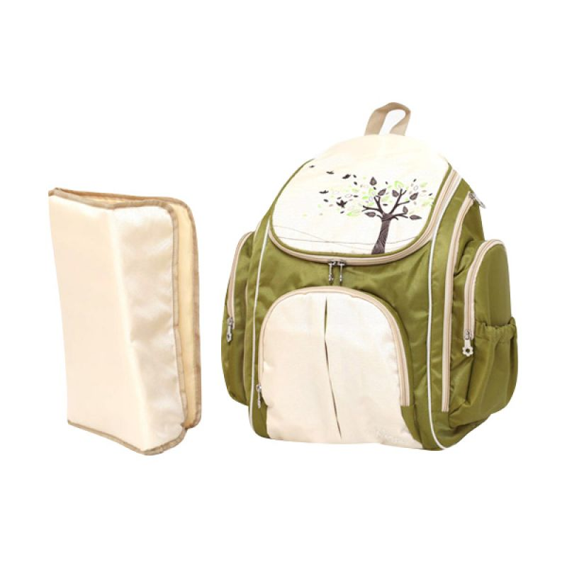 Allegra Maple Beige Backpack Tas Bayi
