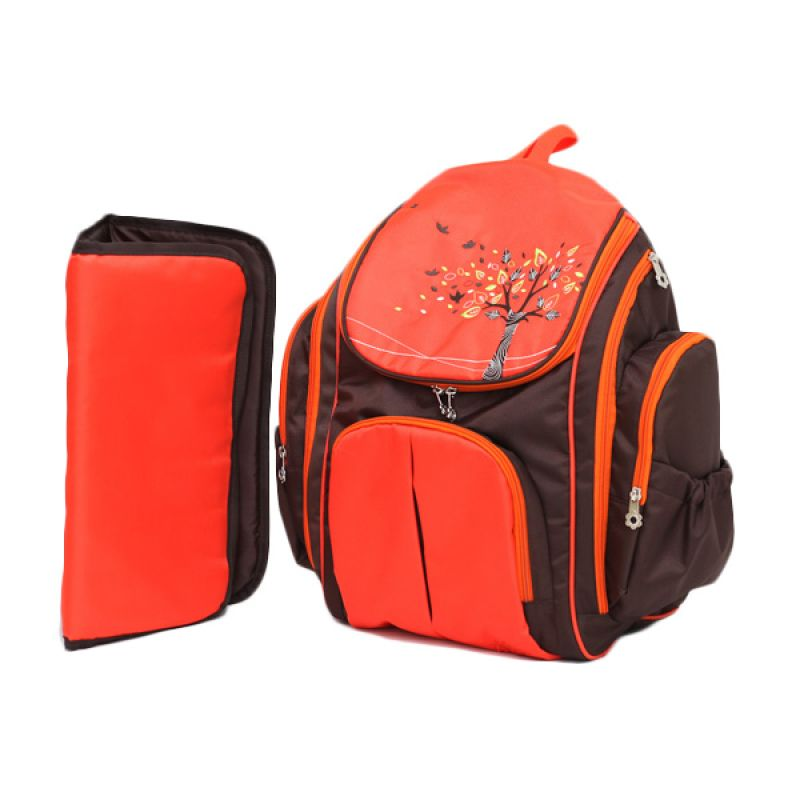 Allegra Maple Orange Backpack Tas Bayi