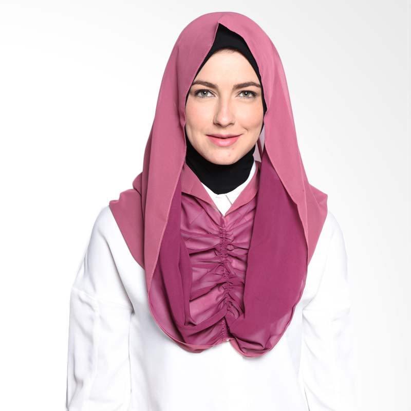 ALLS SCARF Bowie Shawl B 001 05 Solid Pink Hijab