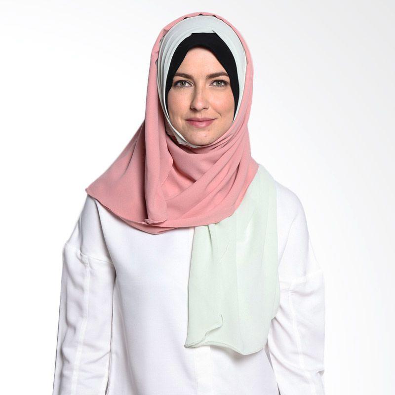 All's Scraf Comby Shawl B 006 02 Mint Pink Hijab