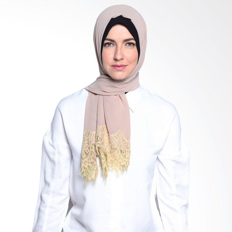 All's Scraf Lacey Shawl B 009 02 Mocca Hijab