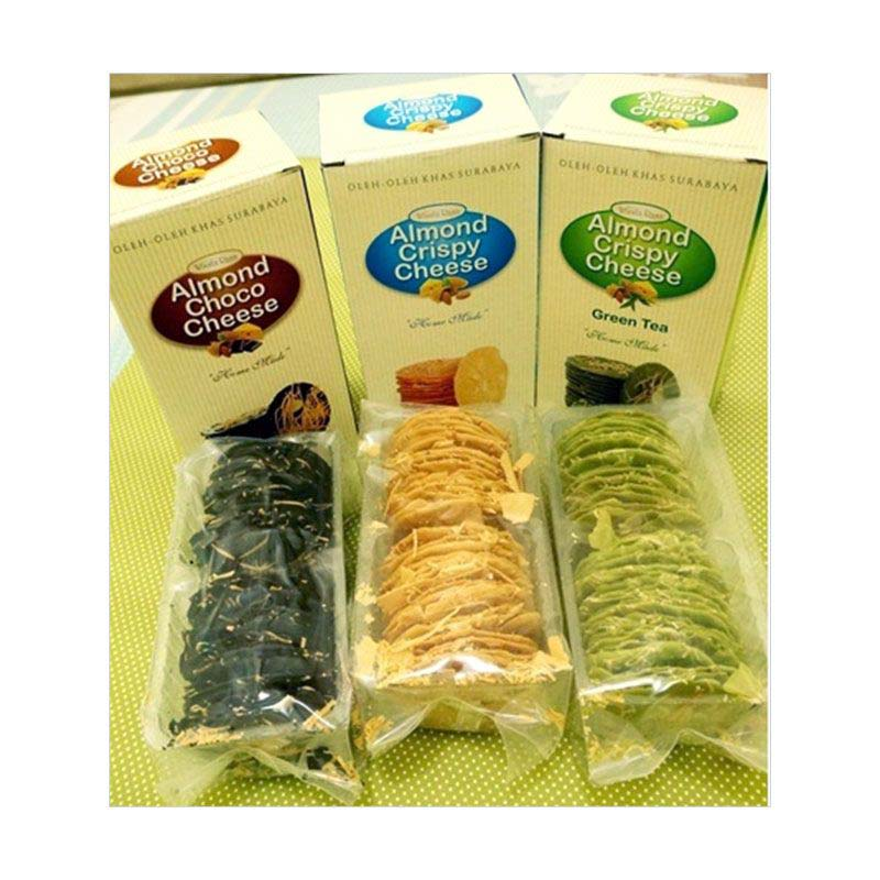 Wisata Rasa Almond Crispy Kue Kering Rasa Mixed 2pcs Flavor Edisi Ramadhan Paket 6pcs