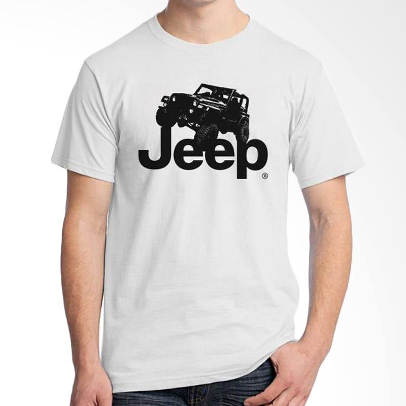 Ordinal Jeep Series Edition 01 Putih T-Shirt Pria