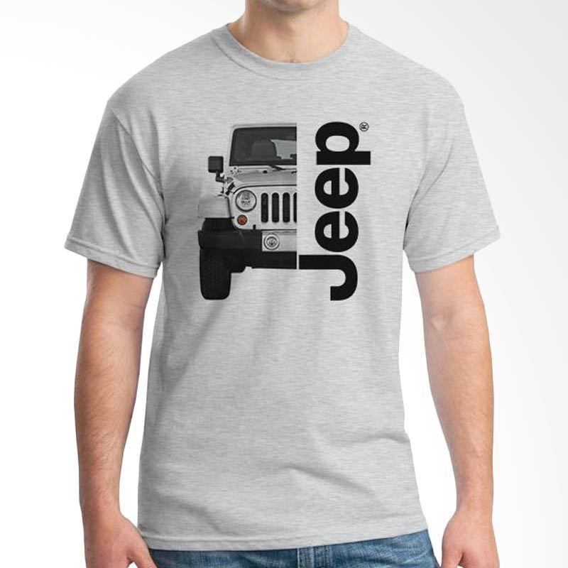 Ordinal Jeep Series Edition 03 Grey T-Shirt Pria