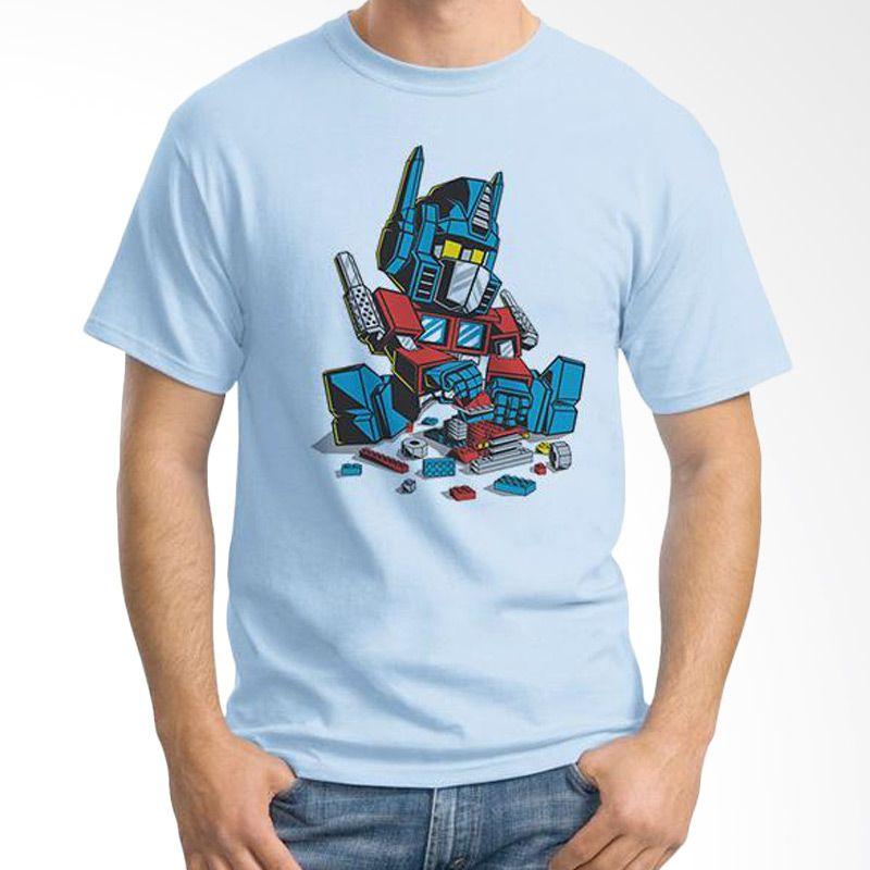 Ordinal Lego Edition 13 Biru Muda T-Shirt Pria