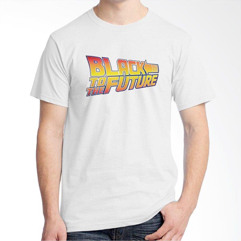 Ordinal Movie Logo Parody 12 Putih Kaos Pria