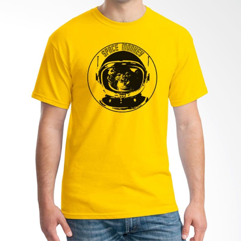 Ordinal Space 07 Kuning Kaos Pria
