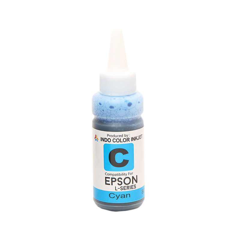 Alphabet Indo Color Tinta Refill for Epson L - Series - Cyan