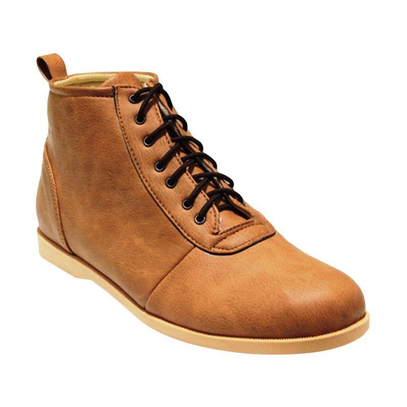 Golden Glory Razor Tan Sepatu Pria