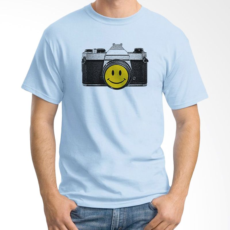 Ordinal About Photography Edition 02 Biru Muda Kaos Pria