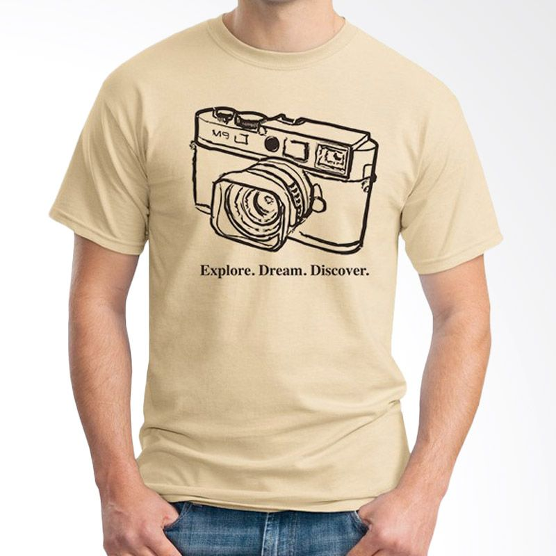 Ordinal About Photography Edition 08 Coklat Krem Kaos Pria