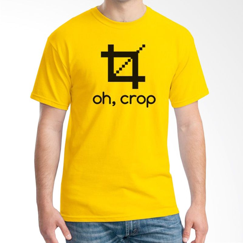 Ordinal About Photography Edition 16 Kuning Kaos Pria