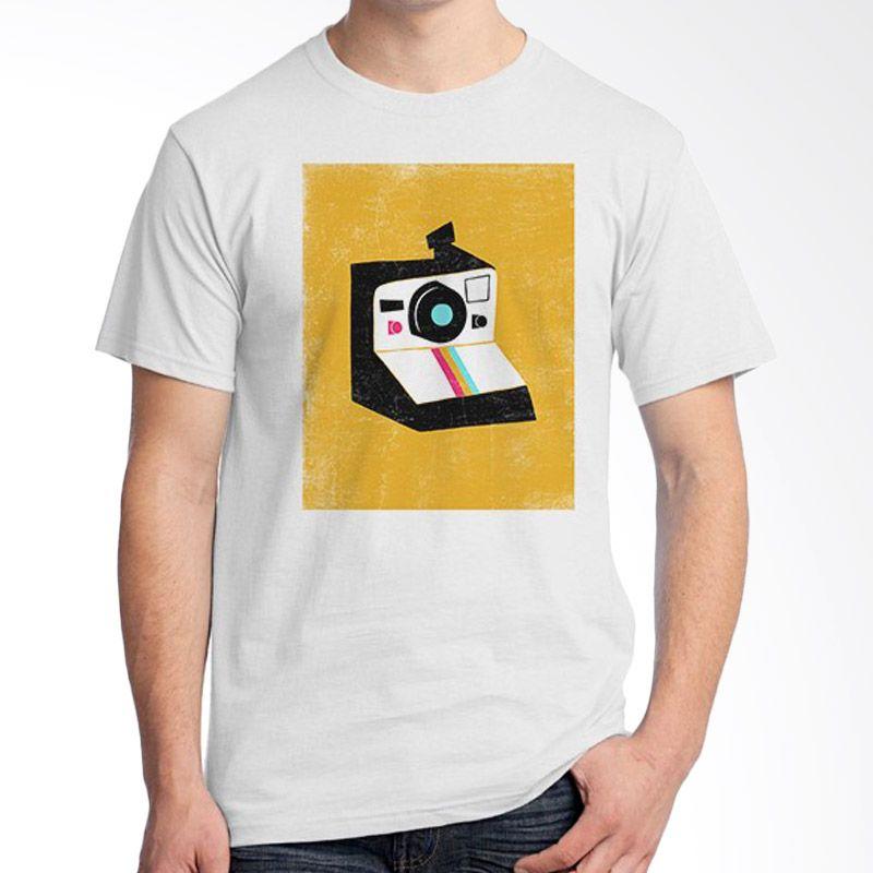 Ordinal About Photography Edition 18 Putih Kaos Unisex