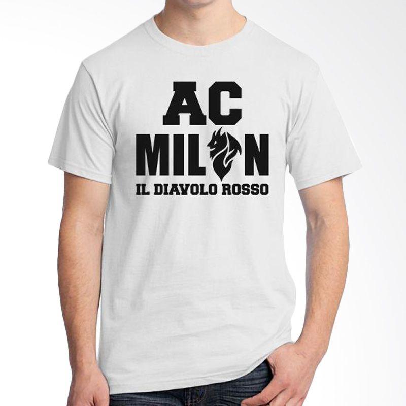 Ordinal AC Milan Edition 05 Putih T-Shirt Pria