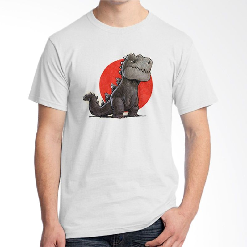 Ordinal Animal Character 05 Putih T-Shirt Pria
