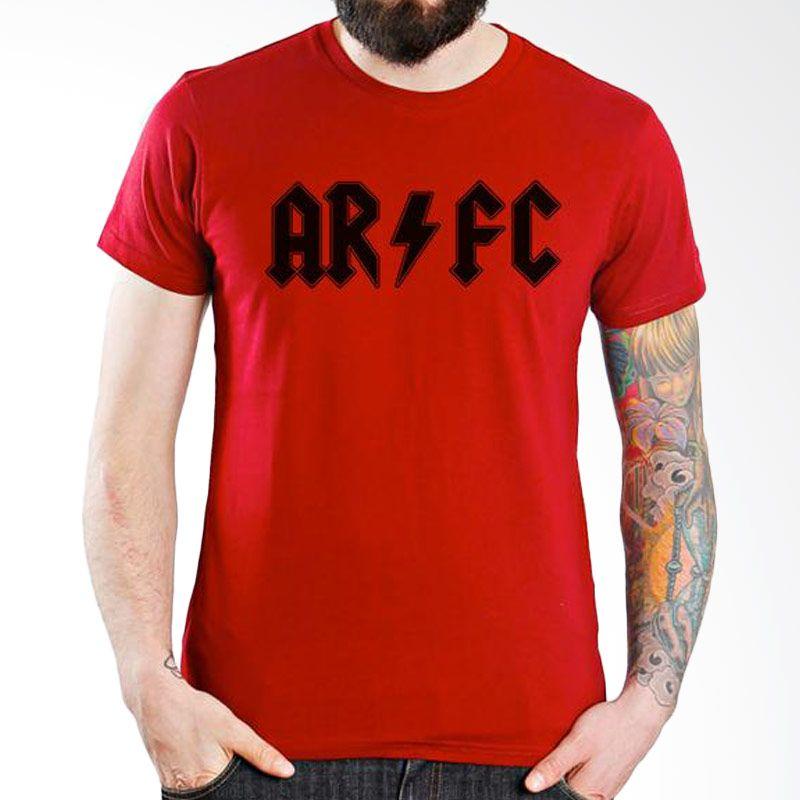 Ordinal Arsenal Edition 01 Merah Kaos Pria