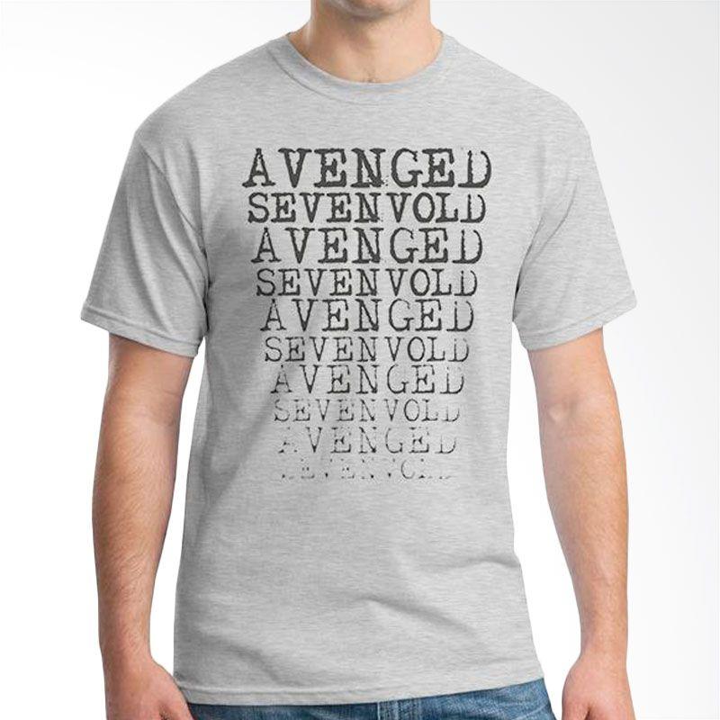 Ordinal Avenged Sevenfold 04 Grey Kaos Pria