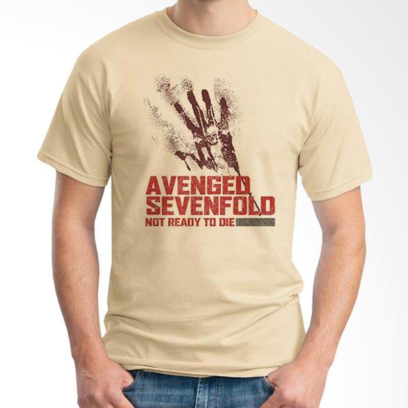 Ordinal Avenged Sevenfold 09 Coklat Krem Kaos Pria