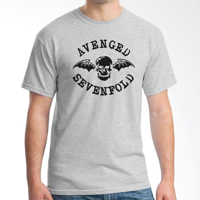 Ordinal Avenged Sevenfold Logo 01 Grey Kaos Pria