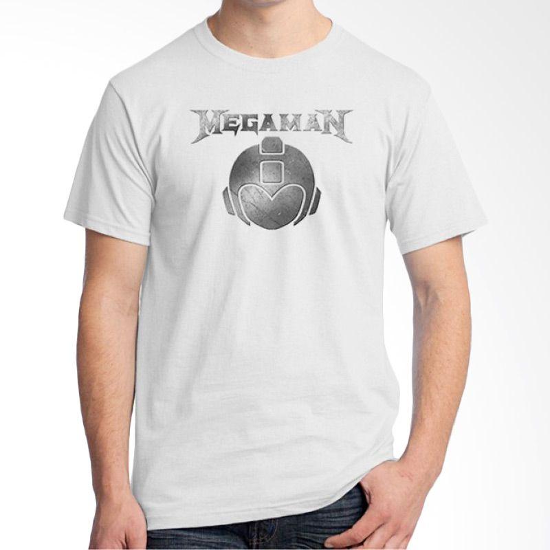 Ordinal Band Logo Parody 04 Putih T-Shirt Pria