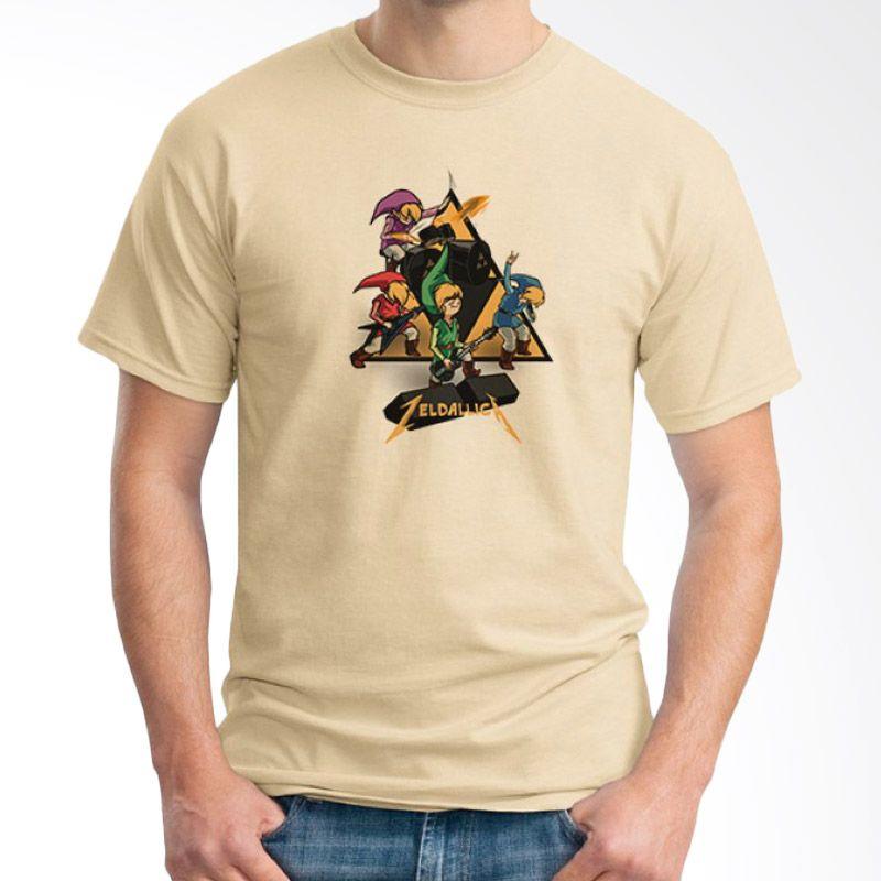 Ordinal Band Logo Parody 07 Krem T-shirt