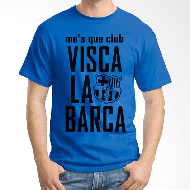 Ordinal Barcelona Edition 06 Biru Tua T-Shirt Pria