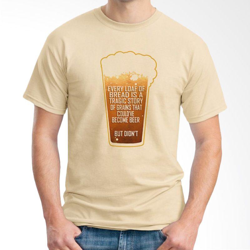 Ordinal Beer Holic Edition 07 Coklat Krem Kaos Pria