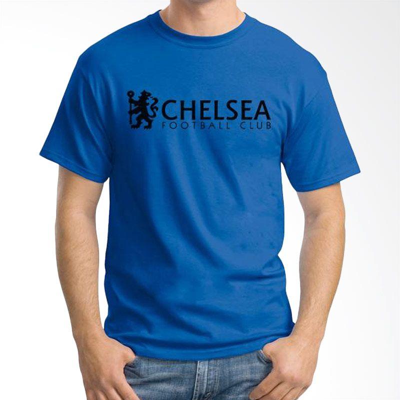 Ordinal Chelsea 05 Biru Tua Kaos Pria