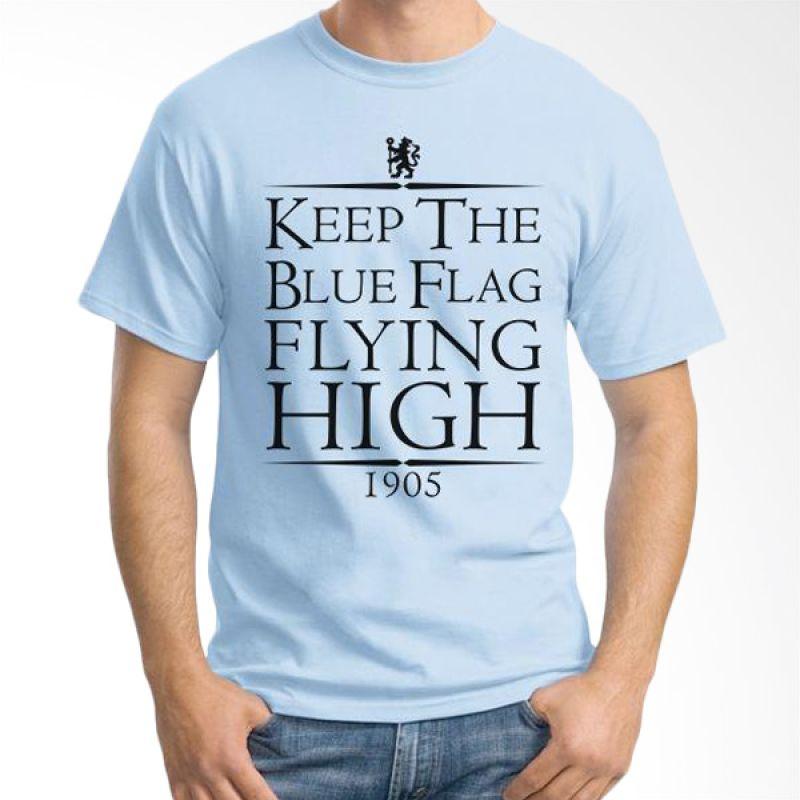 Ordinal Chelsea Biru Muda 06 Kaos Pria