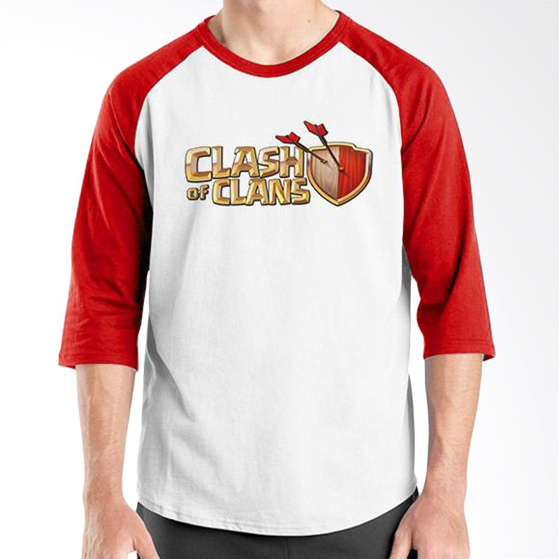 Ordinal Clash of Clans Lego Edition 01 Merah Putih Raglan