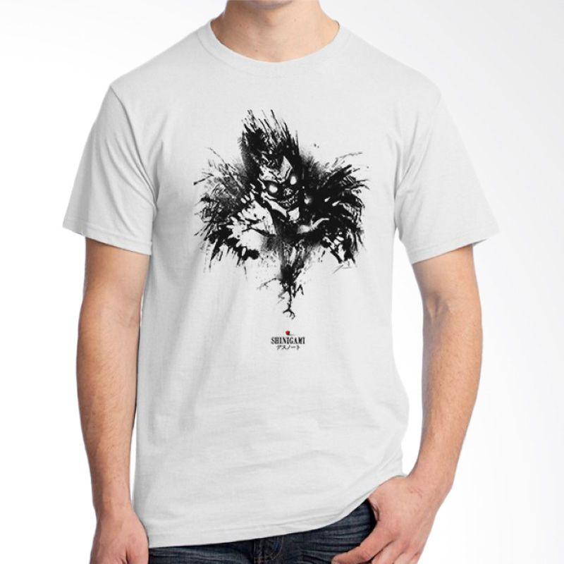 Ordinal Death Note 07 Putih T-Shirt Pria