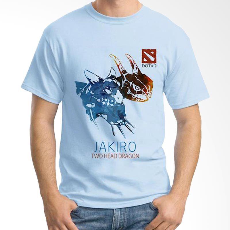 Ordinal DOTA Games Edition 08 Biru Muda T-Shirt Pria