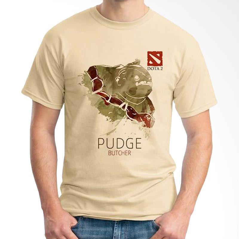 Ordinal DOTA Games Edition 11 Coklat Krem T-Shirt Pria