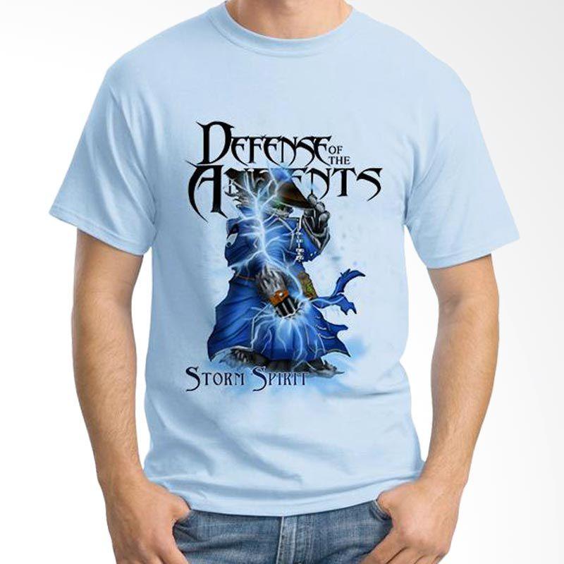 Ordinal DOTA Games Edition 17 Biru Muda T-Shirt Pria
