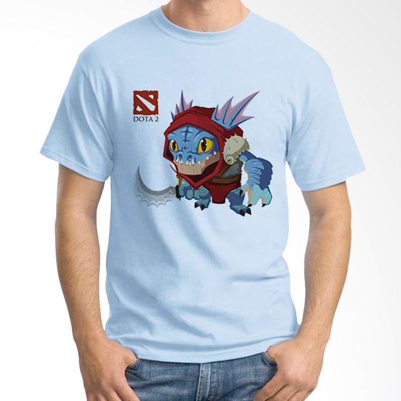 Ordinal DOTA Games Edition 20 Biru Muda Kaos Pria