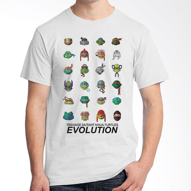 Ordinal Evolution TMNT Edition Putih T-Shirt Pria