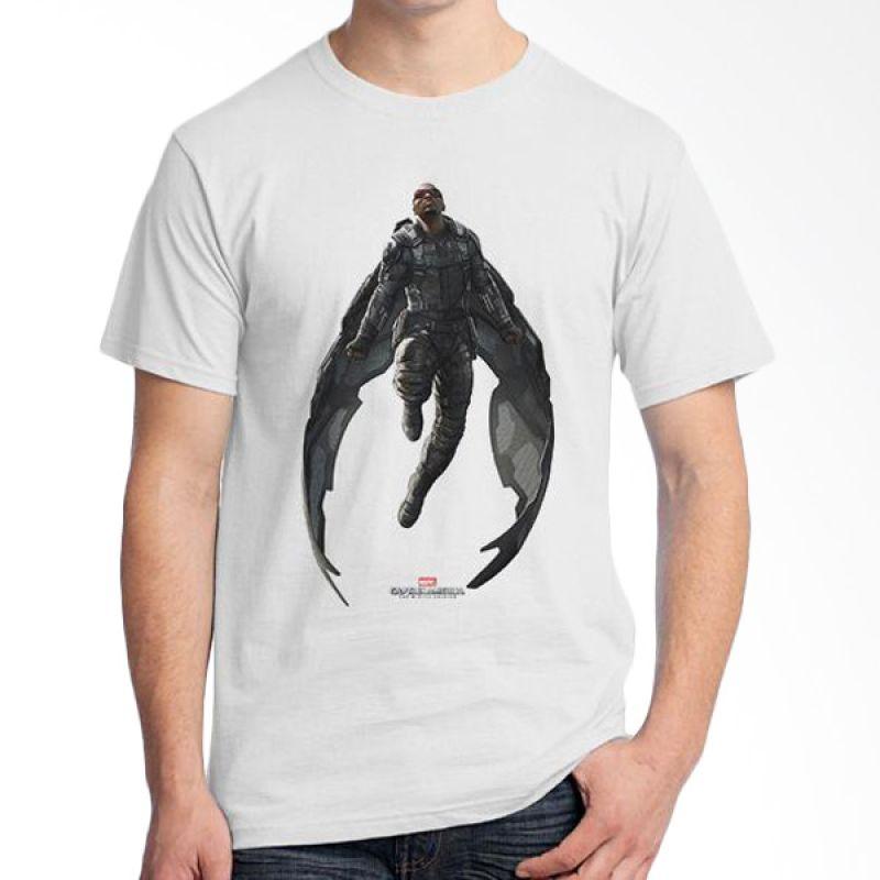 Ordinal Falcon Putih Kaos Pria