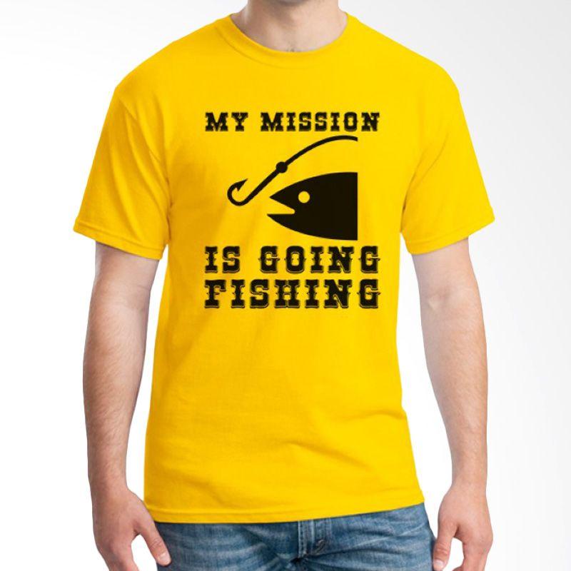 Ordinal Fishing Edition 02 Kuning T-shirt