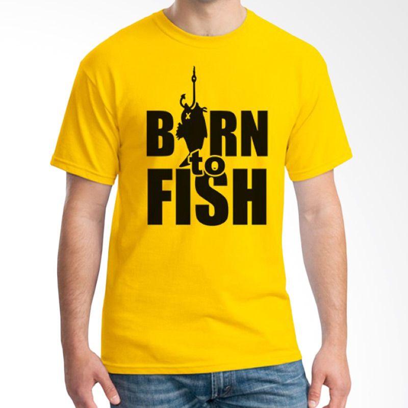 Ordinal Fishing Edition 10 Kuning Kaos Pria