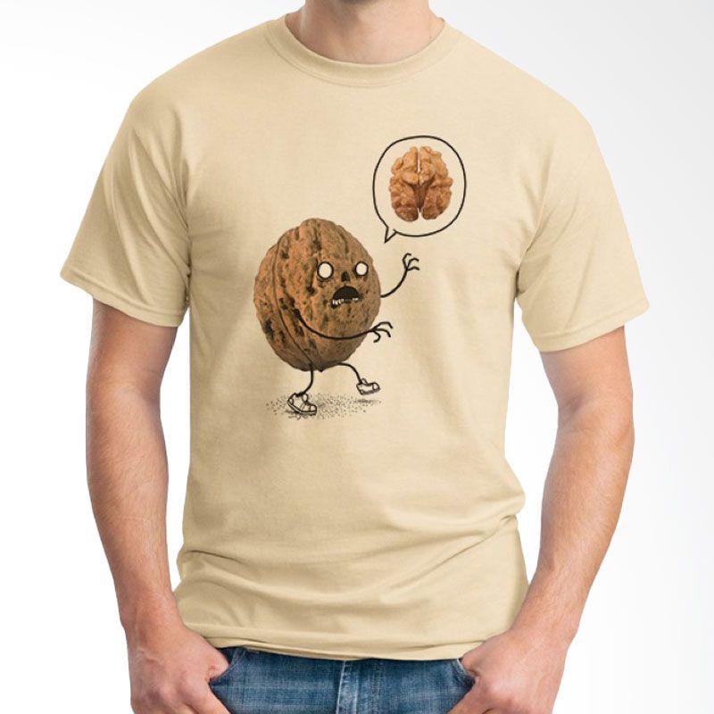 Ordinal Foodtastic 02 Coklat Krem T-Shirt Pria