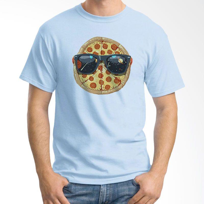 Ordinal Foodtastic 06 Biru Muda T-Shirt Pria